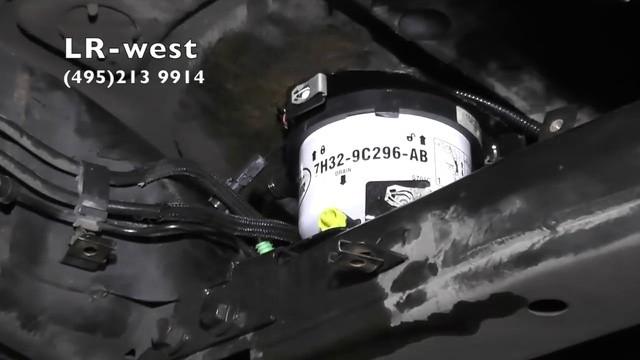 Замена масла в двигателе Ленд Ровер Дискавери 3 дизель 2.7