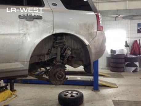 Замена масла в заднем мосту Land Rover Freelander 2 своими руками