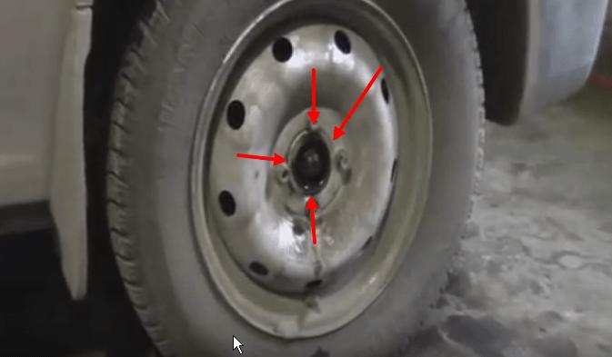Замена передней ступицы и подшипника на Рено Логан