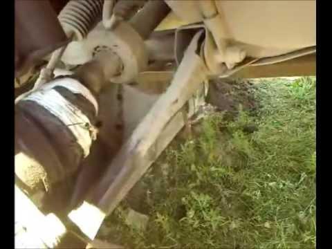 Замена правого наружного пыльника на гранате Рено Логан