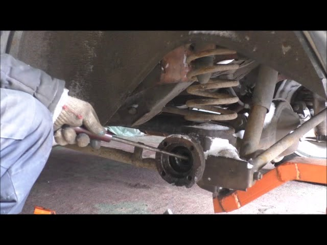 Замена сальника хвостовика заднего моста УАЗ Патриот своими руками
