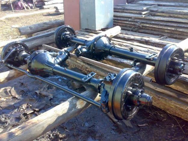 Замена сальника передней ступицы в редукторном мосте УАЗ