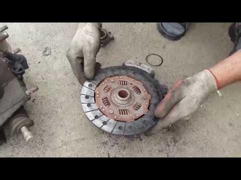 Замена сцепления на Киа Спортейдж 2 своими руками видео