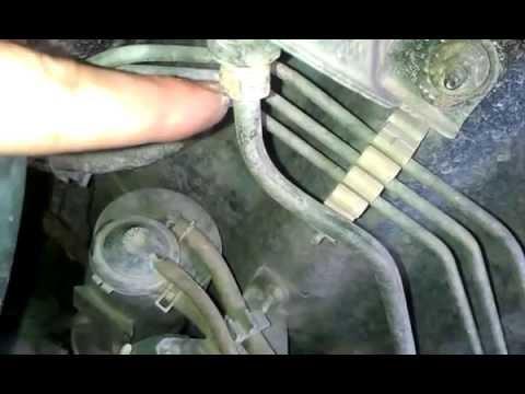 Замена топливного фильтра Тойота РАВ 4 2009 года видео