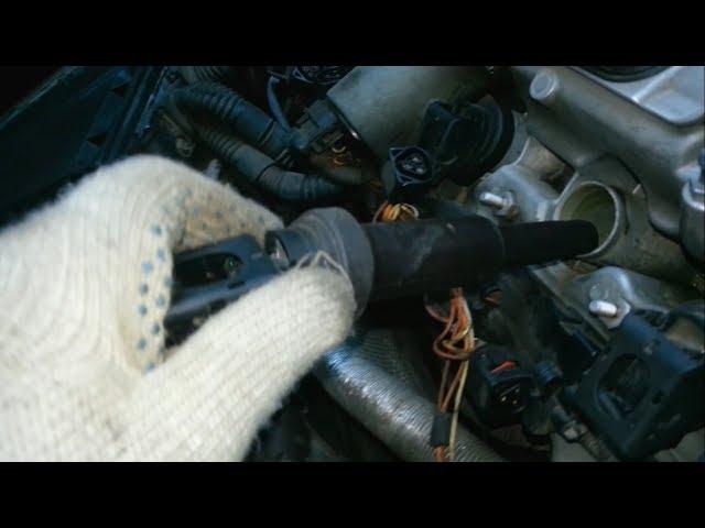 Замена воздушного фильтра БМВ Х5 е70 дизель видео
