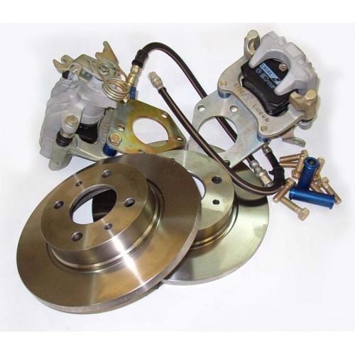 Замена задних тормозов на дисковые на УАЗ Патриот