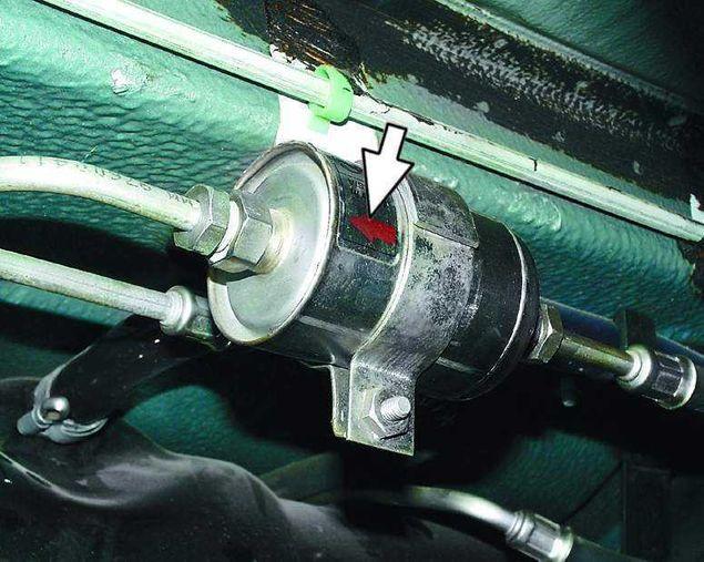 Заменить топливный фильтр на Рено Меган 2 дизель